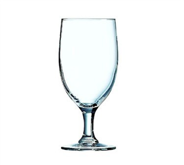 Fully Tempered 14 Oz. Excalibur All Purpose Glass Goblet, - 6-3/4