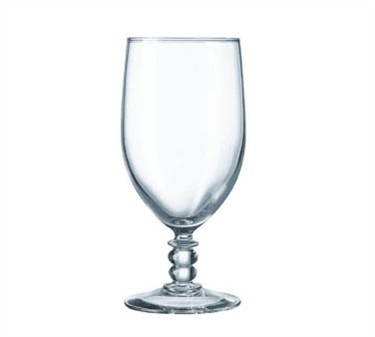 Fully Tempered 14 Oz. Siena All-Purpose Beverage Glass - 6-5/8