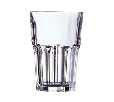 Fully Tempered 14 Oz. Stacking Granite Beverage Glass - 5-1/8