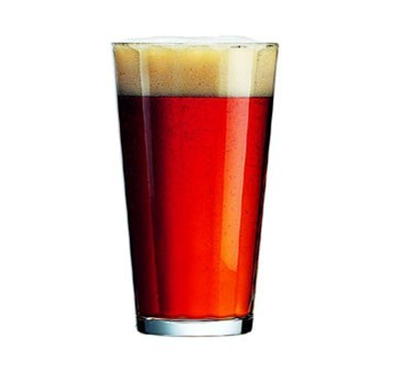 Fully Tempered 16 Oz. Pub Glass - 5-3/4