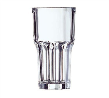 Fully Tempered 16 Oz. Stacking Granite Beverage Glass - 6-3/8