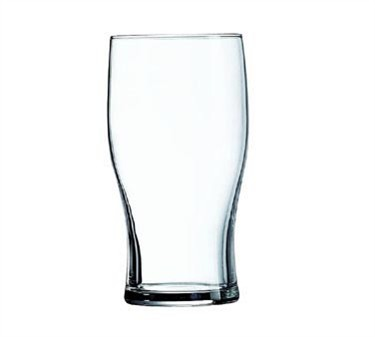 Fully Tempered 16 Oz. Tulip Stackable Beverage Glass - 5-3/4