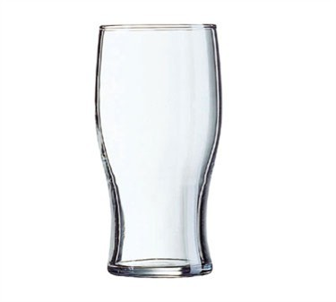 Fully Tempered 20 Oz. Tulip Stackable Beverage Glass - 6-3/8