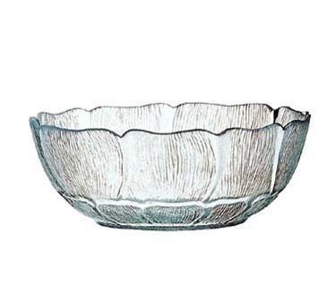 Fully Tempered 32 Oz. Fleur Glass Bowl - 7