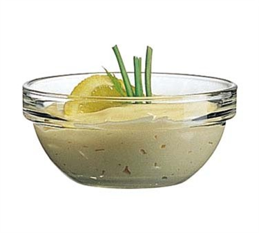 Cardinal E9157 Arcoroc 5 oz. Stacking Glass Bowl