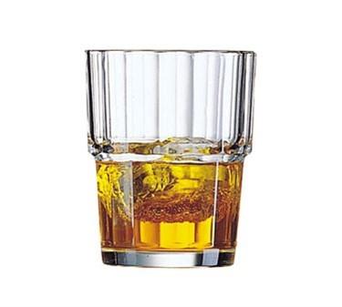 Cardinal 60024 Arcoroc Norvege 6.5 oz. Stacking Old Fashioned Glass