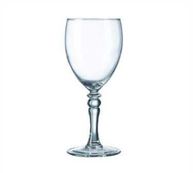 Fully Tempered 8-1/2 Oz. Siena Tall Wine Glass - 6-13/16