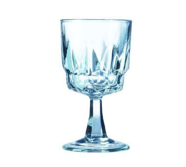 Fully Tempered Artic Arcoroc 5-1/2 Oz. Wine Glass - 4-3/4