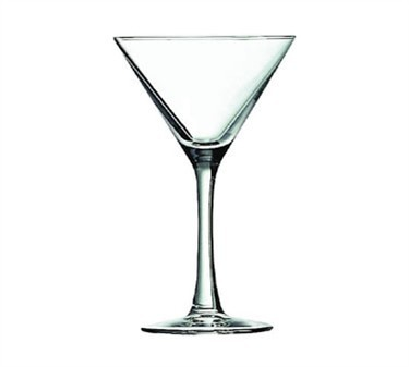 Fully Tempered Excalibur 5 Oz. Cocktail/Martini Glass - 6