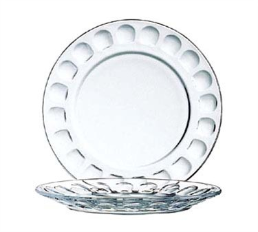 Fully Tempered Glass Roc Dessert Plate - 6