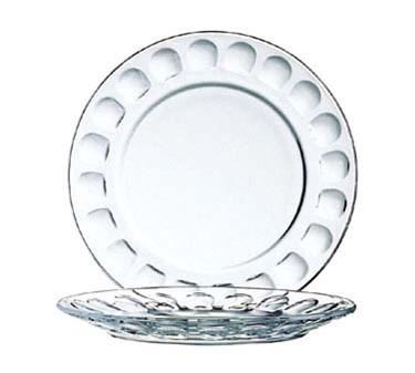"""Cardinal 1166 Arcoroc Roc Glass Dessert Plate 6"""" dia."""