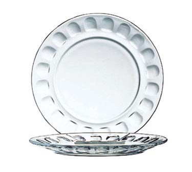 Fully Tempered Glass Roc Salad Plate - 7-1/2