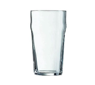 Fully Tempered Nonic 16 Oz. Glass Beverage Tumbler - 5-5/8