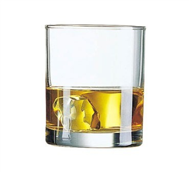 Fully Tempered Princessa 10-1/4 Oz. Old Fashioned Glass - 3-11/16