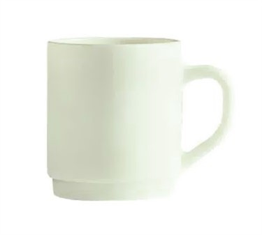Cardinal 48025 Arcoroc Reception Bone White 10 oz. Mug