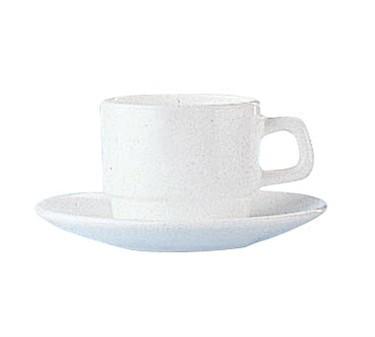 Cardinal 14611 Arcoroc Restaurant White 8 oz. Cup