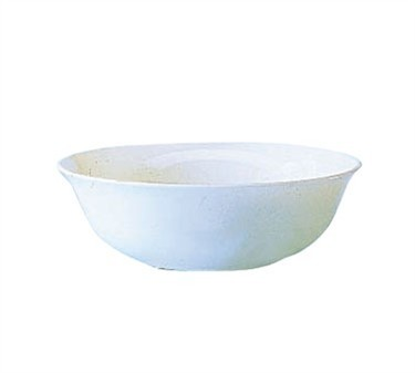 Fully Tempered Restaurant White 15 Oz. Multi-Usage Glass Bowl - 6-1/4