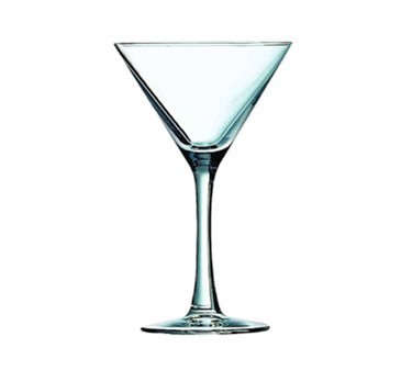 Fully Tempered Thick Stem 10 Oz. Excalibur Cocktail/Martini Glass -7-7/16