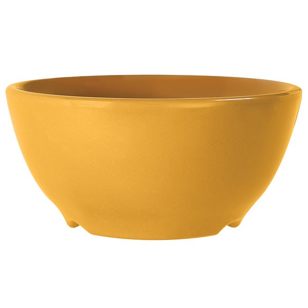 G.E.T. Enterprises B-45-TY Diamond Mardi Gras Tropical Yellow 10 oz. Melamine Bowl