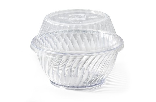 G.E.T. Enterprises LID-55601-CL Clear Disposable Lid for DD-60 & DD-80