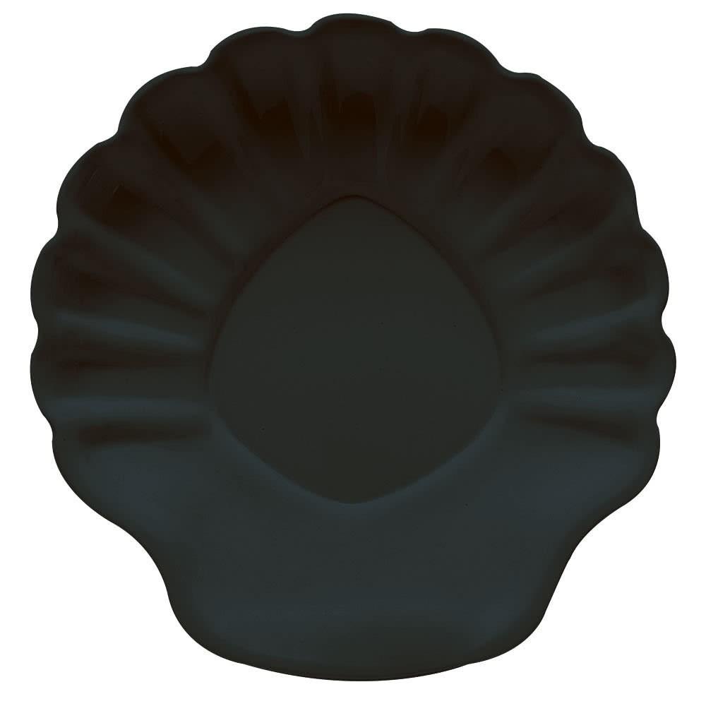 """G.E.T. Enterprises SH-12-BK Creative Table Black Shell Plate 12"""""""