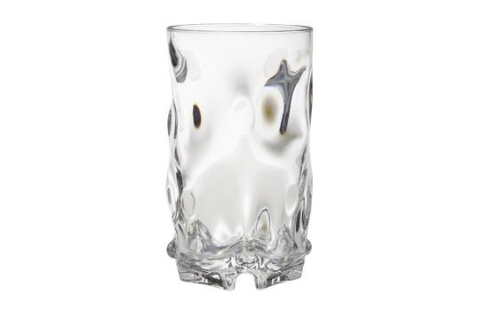 G.E.T. Enterprises SP-SW-1442-CL Clear SAN Plastic 16 oz. Beverage Glass
