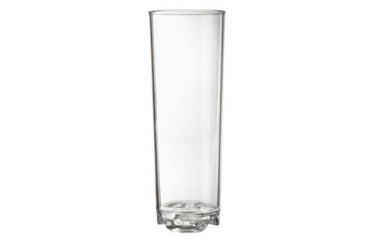 G.E.T. Enterprises SW-1441-1-CL Clear SAN Plastic 14 oz. Rocks Glass