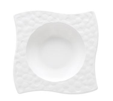 G.E.T. Enterprises B-1613-W Las Brisas White 12 oz. Melamine Bowl
