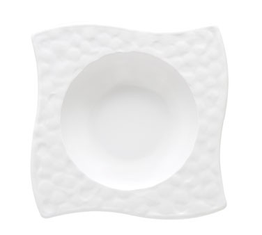G.E.T. Enterprises B-1612-W Las Brisas White 6 oz. Melamine Bowl