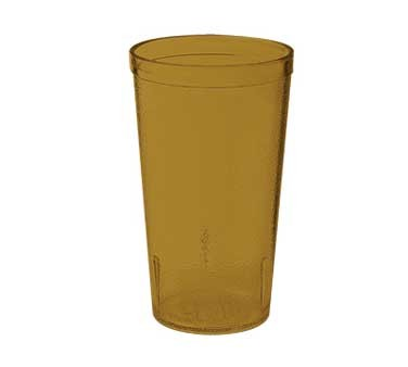 GET Amber Textured 12 Oz. Stackable Drinkware Tumbler   [ Box of 24 ]