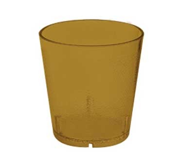 GET Amber Textured 9 Oz. Stackable Drinkware Tumbler [Box of 72]