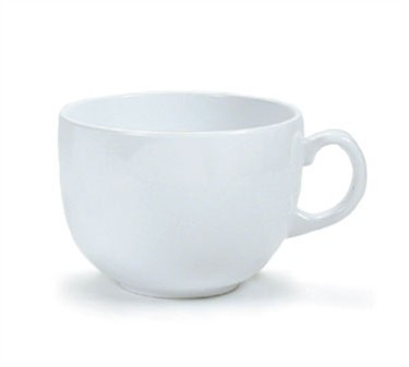 GET Bake And Brew 24 Oz. Melamine White Coffee/Soup Mug - 4-1/4