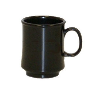 G.E.T. Enterprises TM-1308-BK Black Elegance Tritan 8 oz. Mug