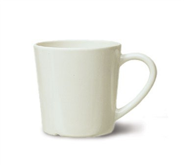G.E.T. Enterprises c-107-iv Diamond Ivory 8 oz. Melamine Cup