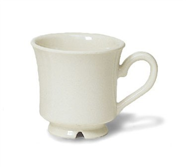 GET Bake And Brew Diamond Ivory 7 Oz. Cup - 3-1/4