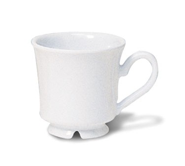 G.E.T. Enterprises C-108-W Diamond White 7 oz. Melamine Cup