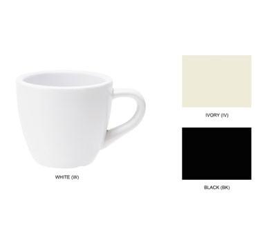 G.E.T. Enterprises C-1004-BK Black Elegance 3 oz. Espresso Cup