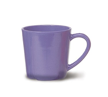 G.E.T. Enterprises C-107-PB Diamond Mardi Gras Peacock Blue 8 oz. Melamine Cup