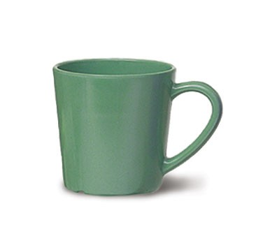 G.E.T. Enterprises C-107-FG Diamond Mardi Gras Rainforest Green 8 oz. Melamine Cup