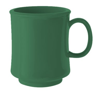 GET Bake And Brew Rainforest Green Plastic 8 Oz. Stacking Mug