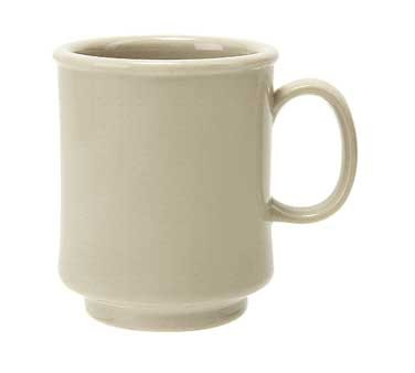 GET Bake And Brew Tahoe Sandstone Plastic 8 Oz. Stacking Mug