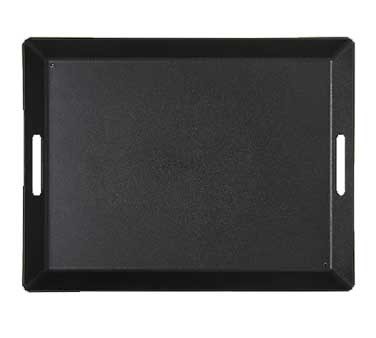 GET Black ABS Plastic Room Service Tray - 15