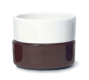 GET Bone White Melamine 4 Oz. Straight Ramekin - 3-1/4