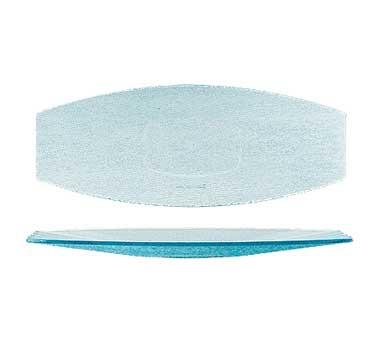 "G.E.T. Enterprises HI-2032-JA Cache Jade Polycarbonate Oval Platter, 22-1/2"" x 9"""