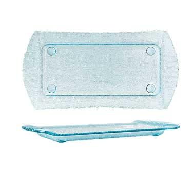 "G.E.T. Enterprises HI-2030-JA Cache Jade Polycarbonate Rectangular Platter, 18"" x 9"""
