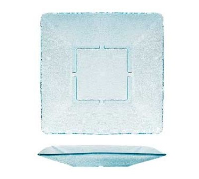 GET Cache Jade Polycarbonate Square Plate - 12-3/4