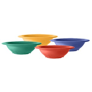 G.E.T. Enterprises B-127-MIx Diamond Celebration 4-Color Pack 2 oz. Melamine Bowl