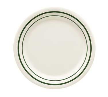 """G.E.T. Enterprises BF-010-EM Emerald Round Melamine Plate 10"""""""