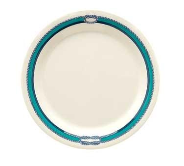 """G.E.T. Enterprises BF-010-FP Freeport Round Melamine Plate 10"""""""