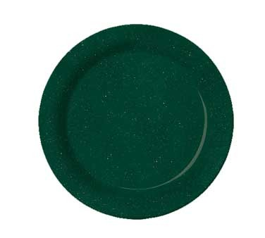 G.E.T. Enterprises BF-090-KG Kentucky Green Melamine Plate 9""